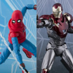 SH Figuarts Homemade Suit Spider-Man & Iron Man Figures!