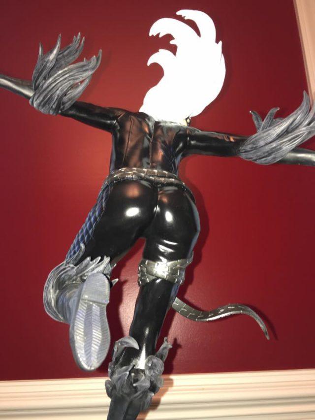 Sideshow Black Cat Statue Butt