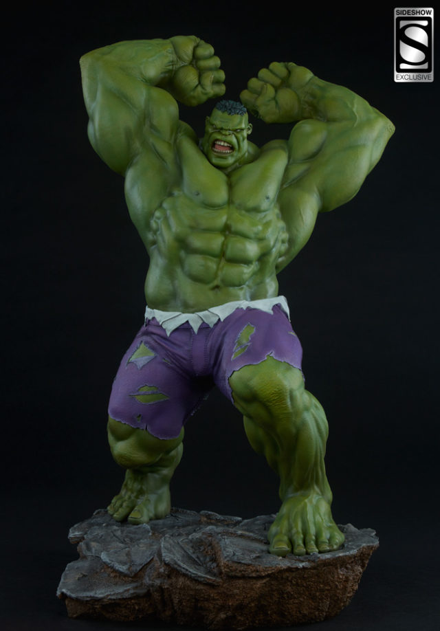 Sideshow Collectibles Hulk Exclusive Head Avengers Assemble