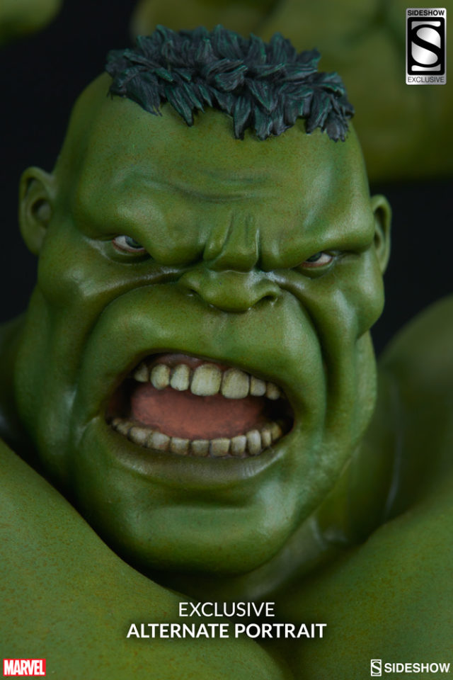 Sideshow Exclusive Avengers Assemble Hulk Head