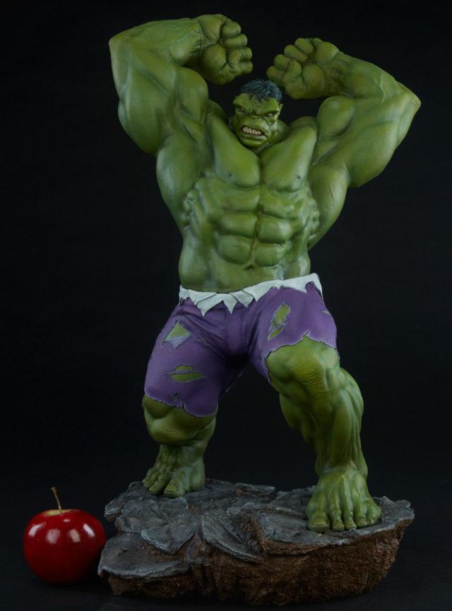 Size Scale Comparison Hulk Avengers Assemble Statue Apple