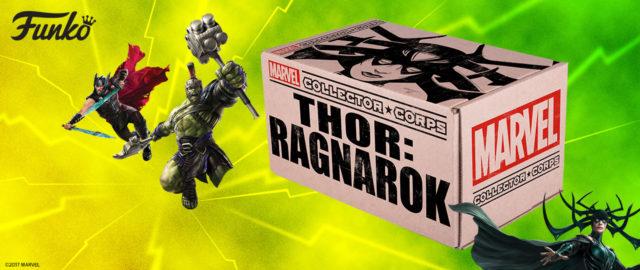 Thor Ragnarok Collector Corps Box