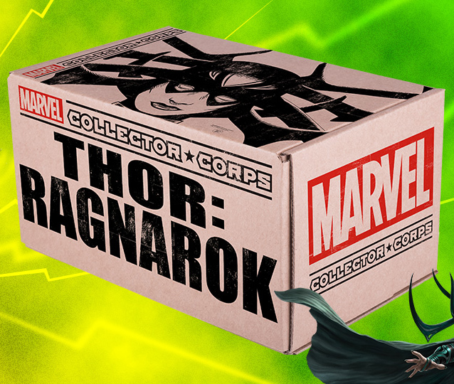 Thor Ragnarok Marvel Collector Corps Box