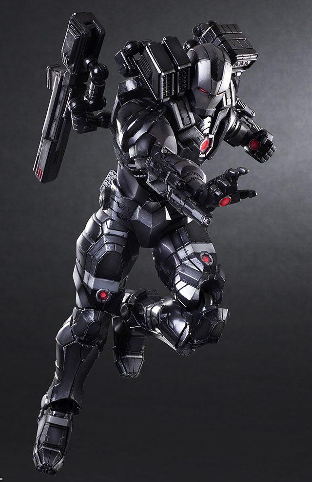 War Machine Play Arts Kai 10 Inch Action Figure