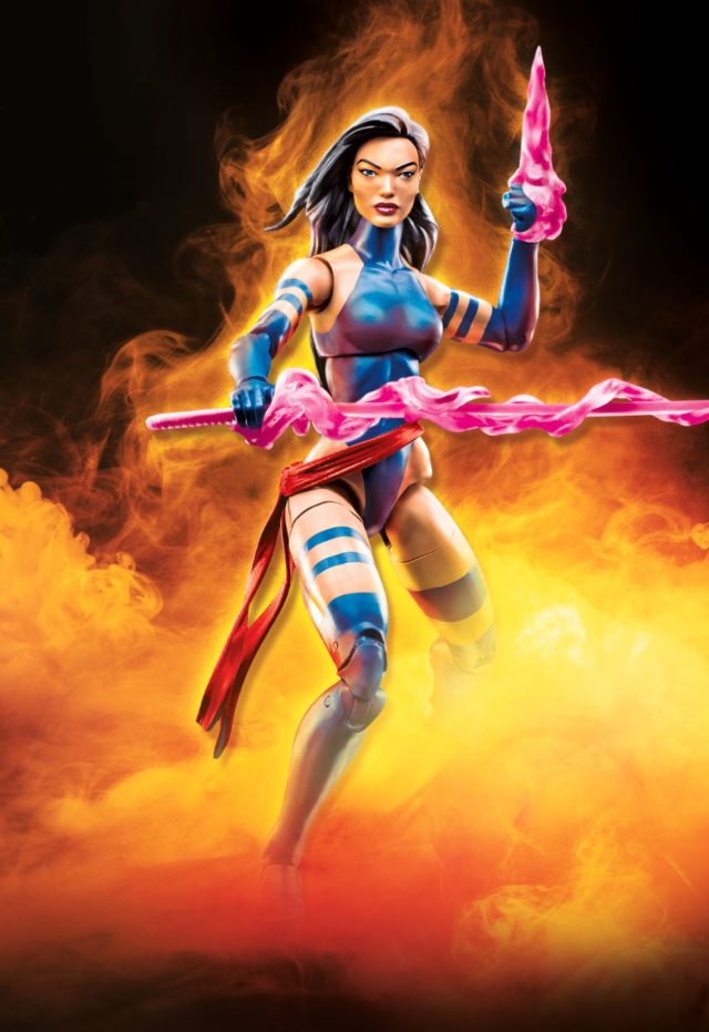 2018 Marvel Legends Psylocke Figure