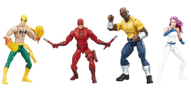 Amazon Exclusive Marvel Legends Defenders Box Set