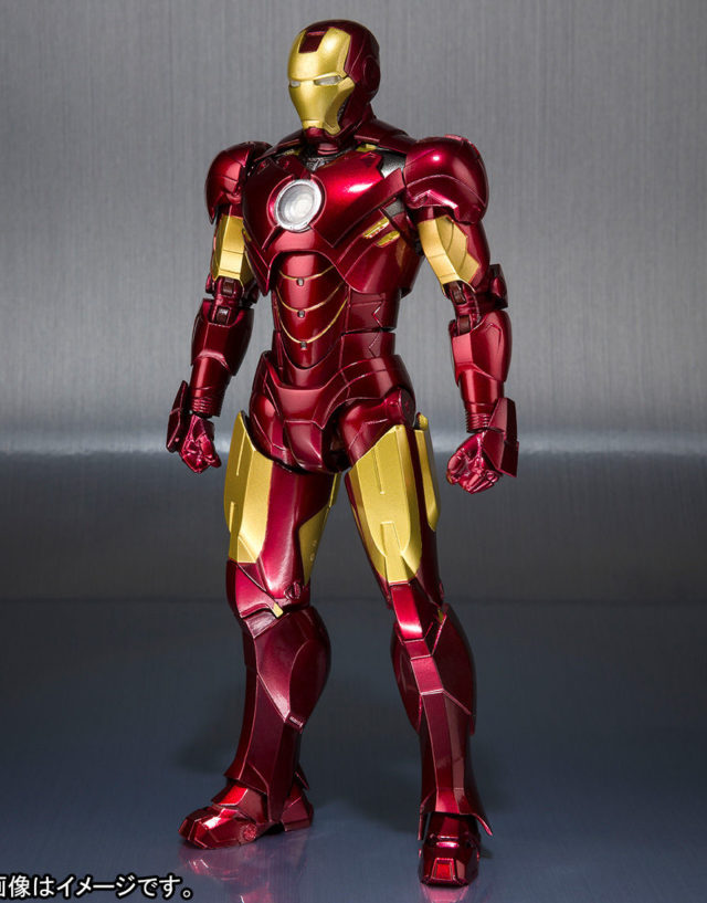 Bandai Tamashii Iron Man Mark IV Figure Figuarts