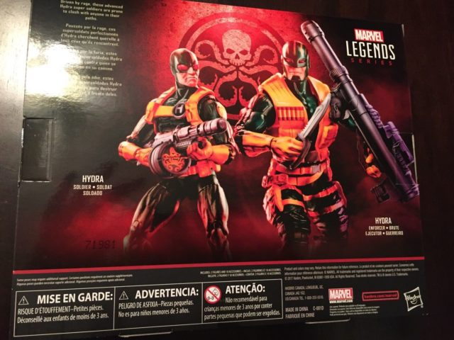 Box Back Toys R Us Hydra Soldiers Two Pack Set