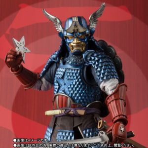 Close-Up of Marvel Manga Realization Captain America Samurai