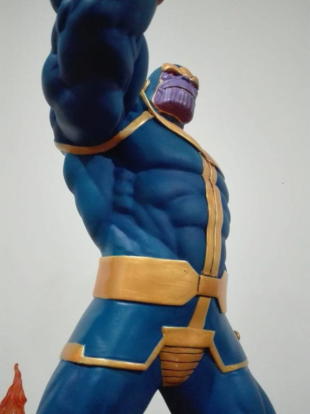 DST Thanos Premier Collection Statue Close-Up