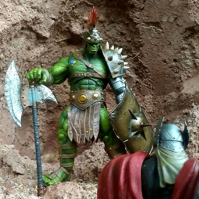 Disney Store Exclusive Planet Hulk Action Figure
