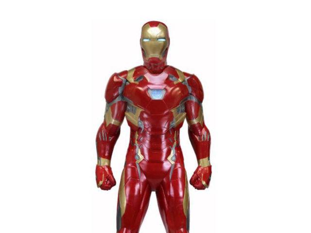 Foam Civil War Iron Man NECA Figure
