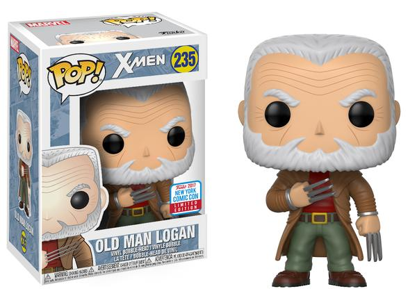Funko POP Vinyls Old Man Logan Figure NYCC 2017