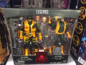Hascon Marvel Legends Hydra Pack Set Packaged