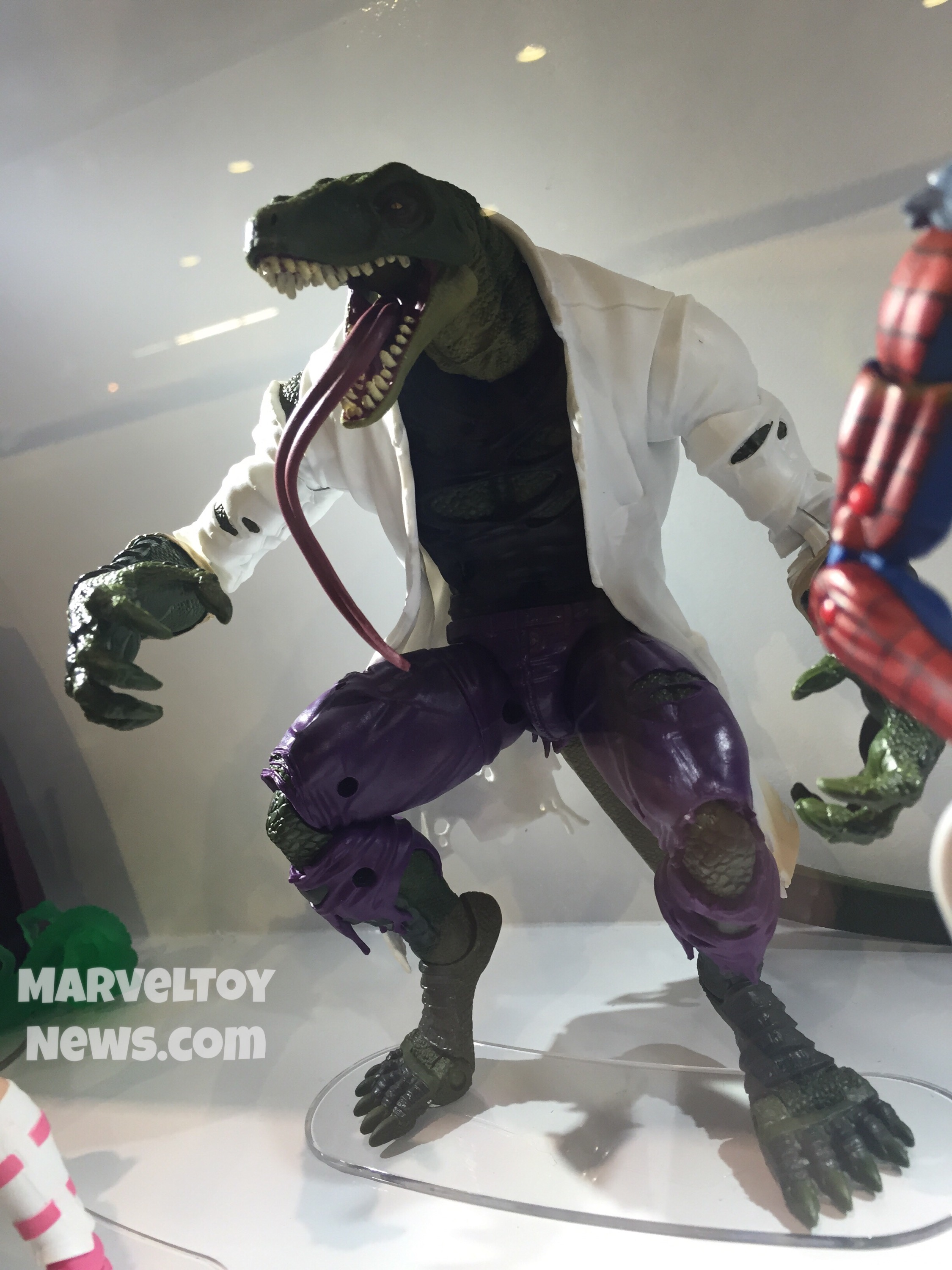 69f9d8b6f8050 HasCon: Marvel Legends Spider-Man Lizard Series Photos! - Marvel Toy ...