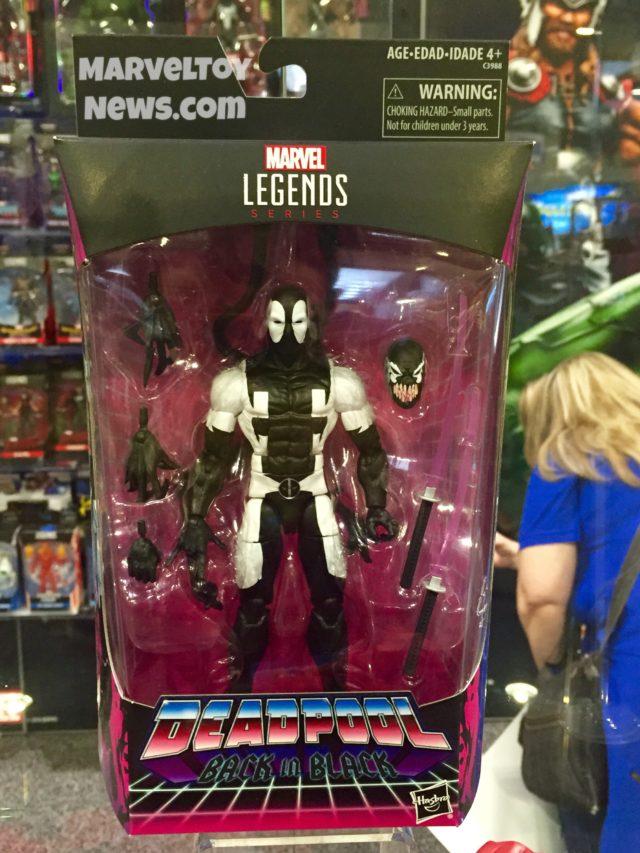 Back in Black Deadpool Marvel Legends Figure Packaged