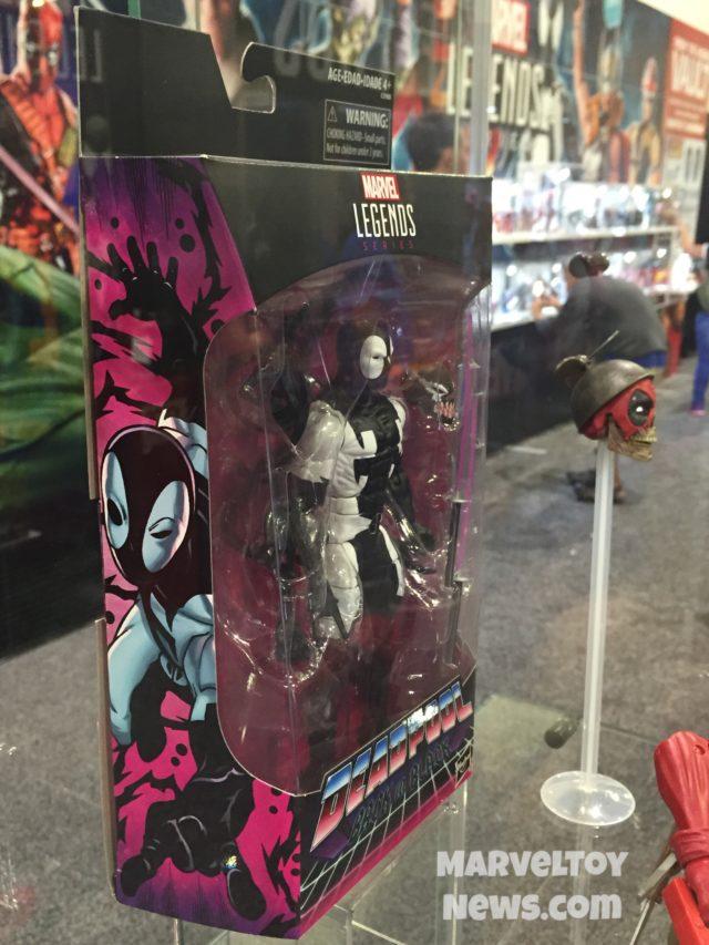 Gamestop Exclusive Marvel Legends Back in Black Deadpool Side Art