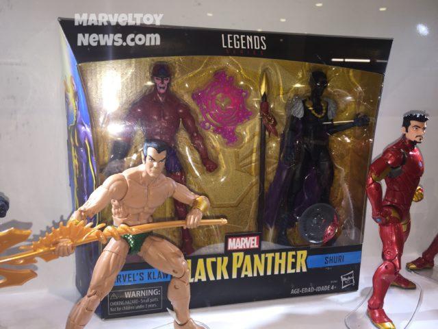 Marvel Legends Shuri Klaw Two-Pack