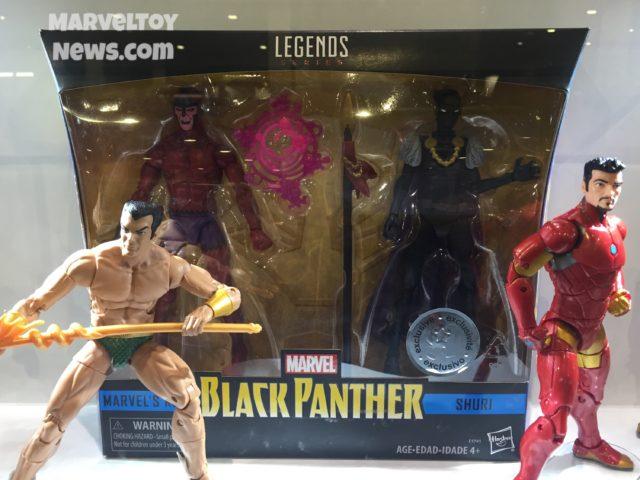Toys R Us Exclusive Black Panther 2-Pack Marvel Legends Klaw Shuri