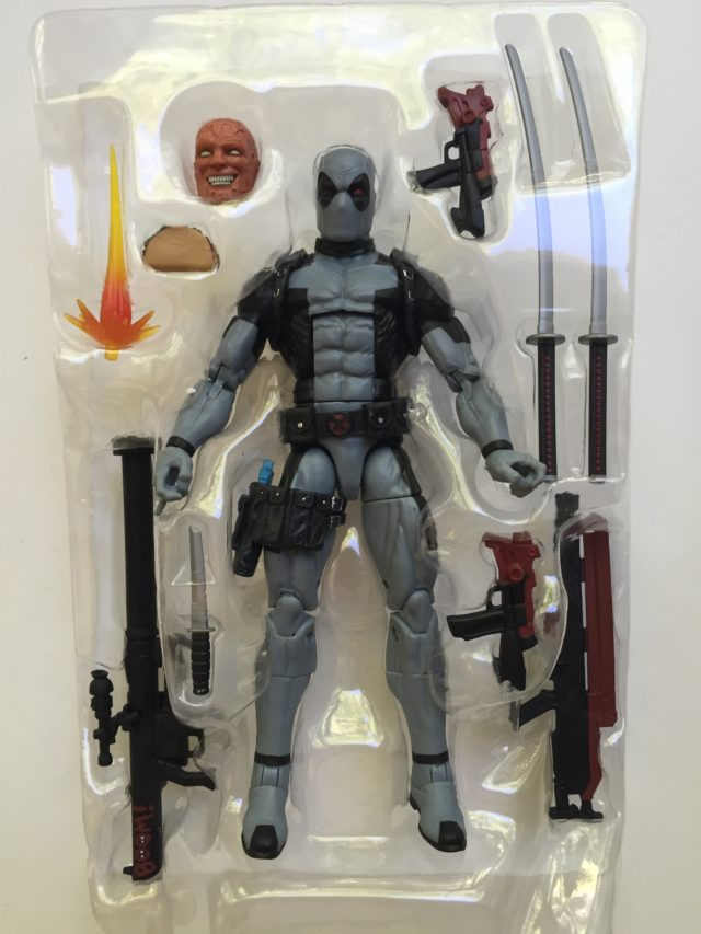 Hascon Deadpool Exclusive Figure Accessories