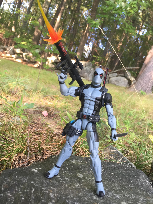 """Marvel Legends Uncanny X-Force Deadpool Hascon Exclusive 6/"""" Loose Action Figure"""
