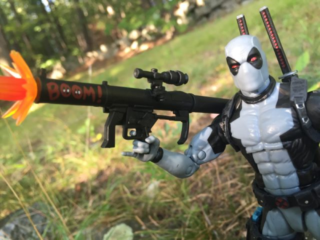 Hascon Marvel Legends X-Force Deadpool Bazooka with Effects Piece
