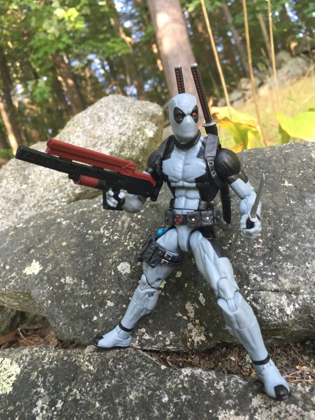 Marvel Legends X-Force Deadpool Review Hascon Exclusive