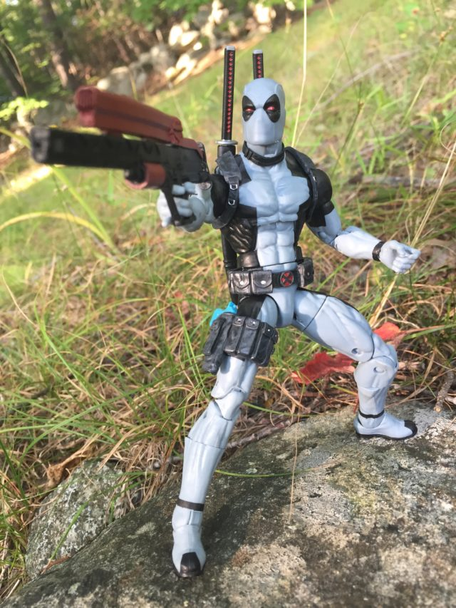 Marvel Legends 2017 X-Force Deadpool Exclusive Figure Review Hasbro