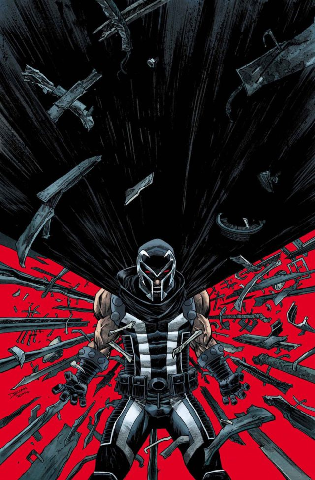 Marvel NOW Magneto Black Costume Cover