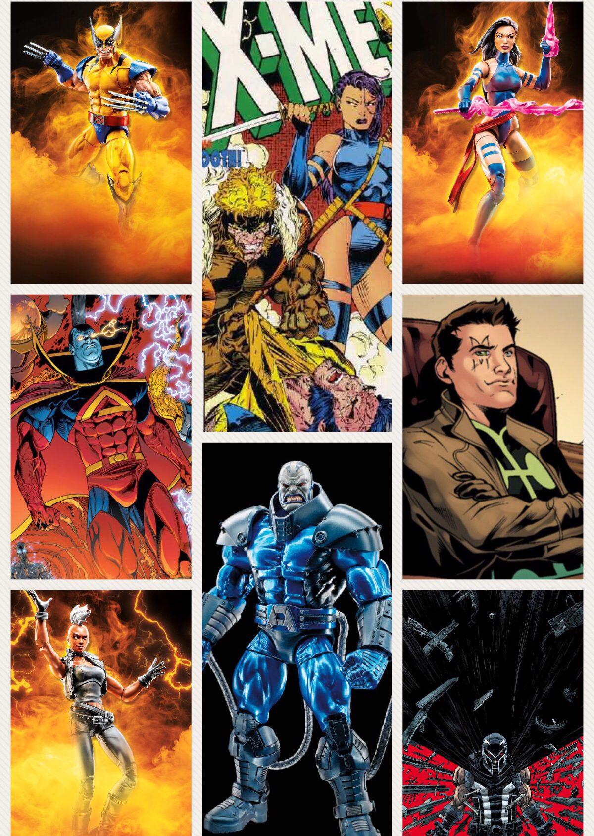 2018 Marvel Legends X-Men Apocalypse Series Lineup Revealed