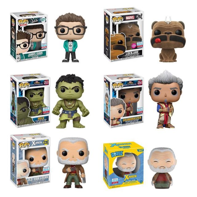 Funko NYCC 2017 Exclusives