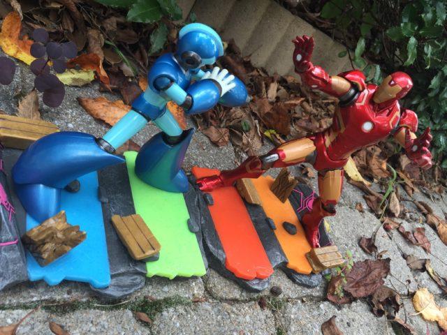 Marvel vs Capcom Statues Mega Man X vs Iron Man Review