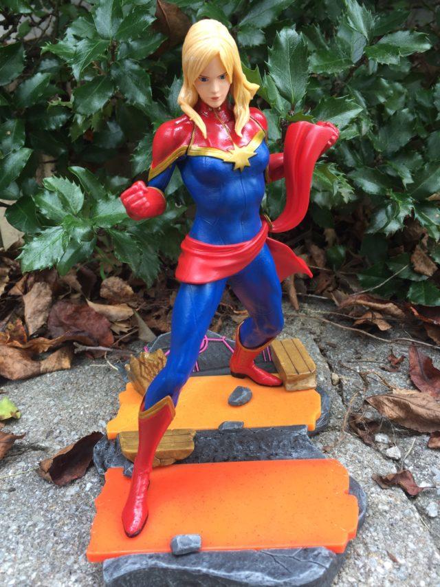 Captain Marvel Statue with Long Hair Marvel vs Capcom Infinite
