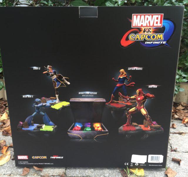 Marvel vs. Capcom: Infinite Collector's Edition Box Back
