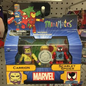 Marvel Minimates Scarlet Spider & Carrion Figures