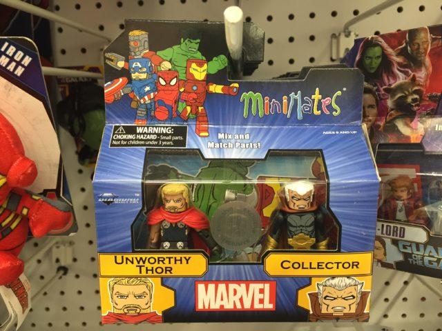 Toys R Us Exclusive Minimates Collector Unworthy Thor Set