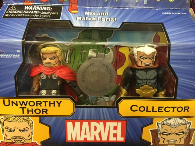 Marvel Minimates Unworthy Thor & The Collector Packaged