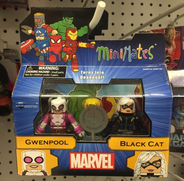 Marvel Minimates Toys R Us Gwenpool Black Cat Figures 2-Pack