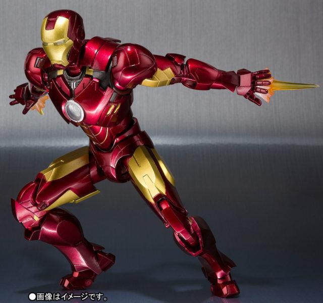 Iron Man Mark 4 Figuarts Figure Bandai Tamashii
