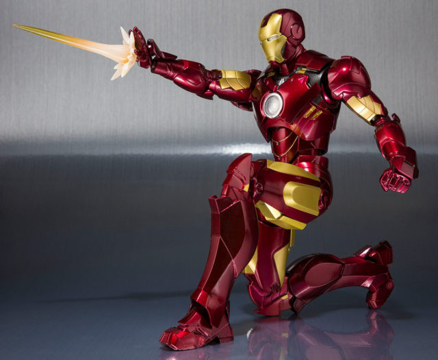 Iron Man Mark IV Figuarts Figure Shooting Effects Pieces