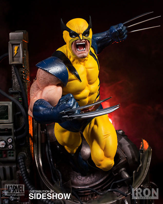 Iron Studios First Appearance Wolverine Mask Head Original