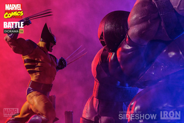 Iron Studios Wolverine vs. The Juggernaut Statue