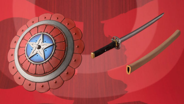 Manga Realization Captain America Figure Accessories