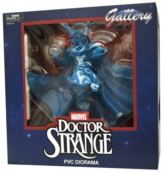 Marvel Gallery Astral Form Doctor Strange Statue Box NYCC 2017 DST