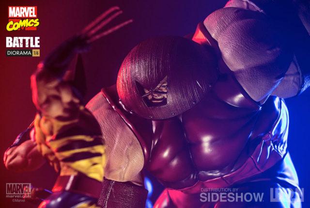 Marvel Iron Studios Juggernaut Statue vs Wolverine