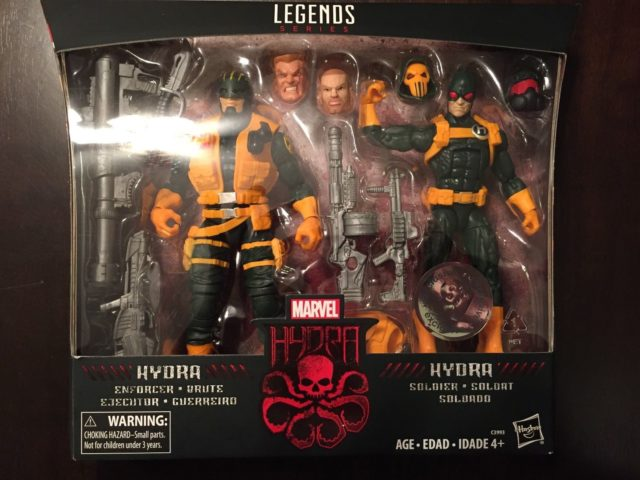 Marvel Legends Hydra Troopers Two Pack Released