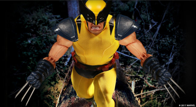 Marvel ONE 12 Collective Yellow Costume Wolverine Exclusive Figure
