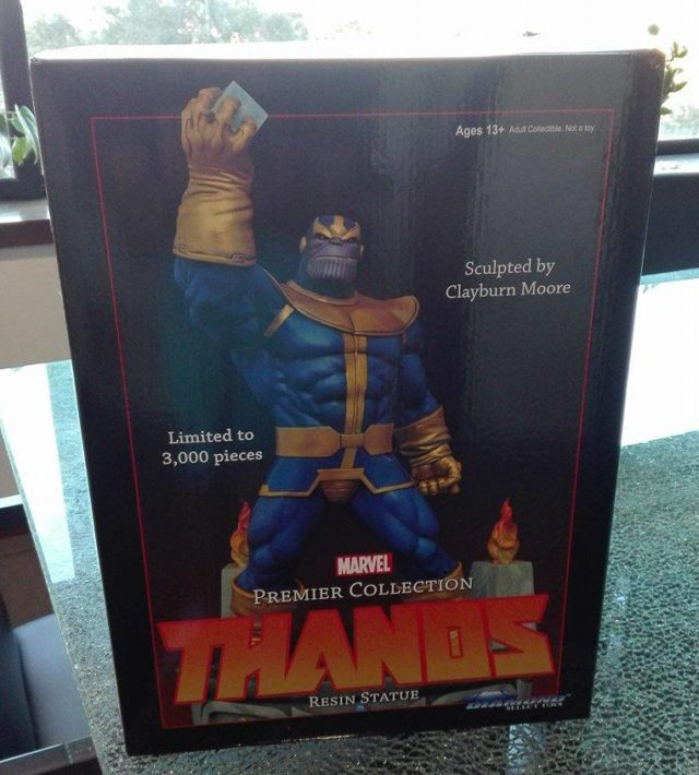 Marvel Premier Collection Thanos Box