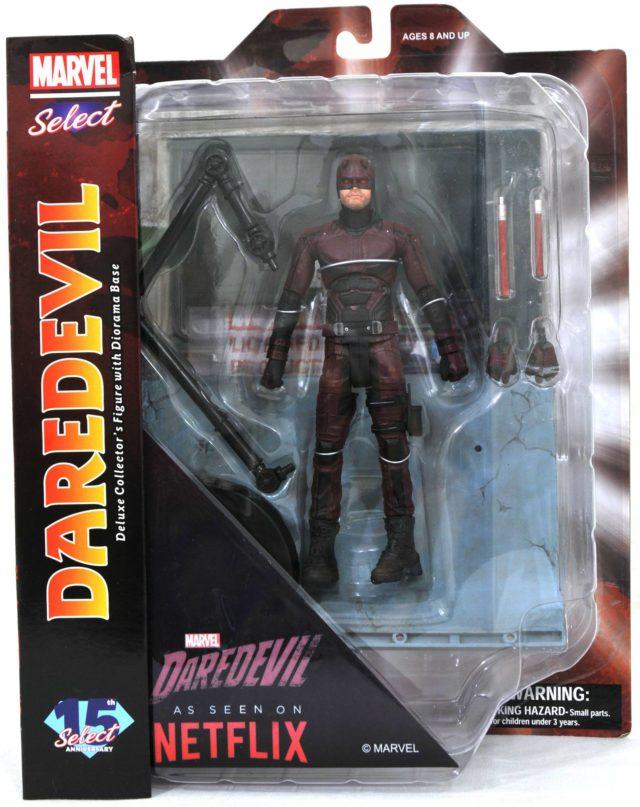 Marvel Select Daredevil Netflix Figure Packaged