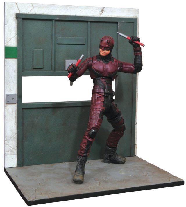 Marvel Select Netflix Daredevil Figure Production Photo